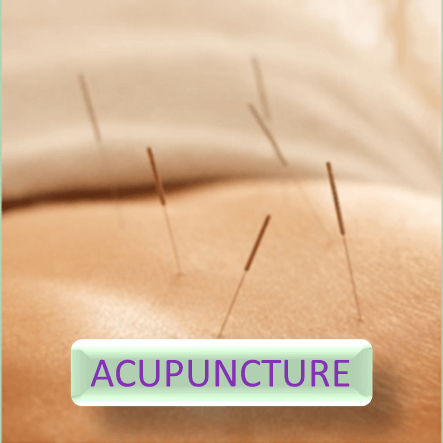 Button for more informations about acupuncture
